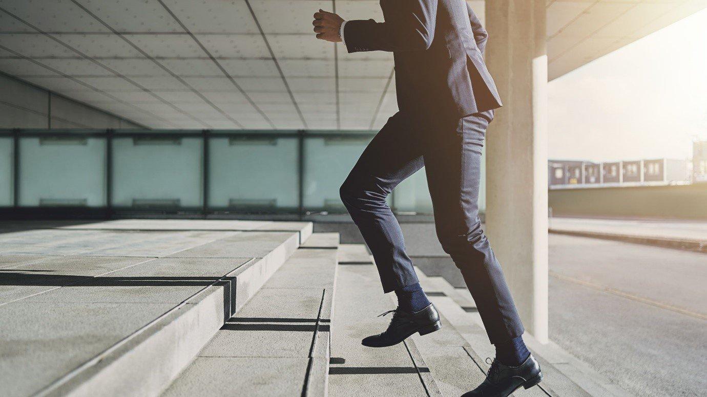 Active at work. Posture, Walking
