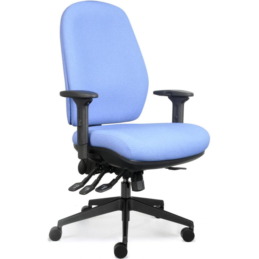 Origin Upholstered High Back Bespoke Posture Chair Heavy Duty