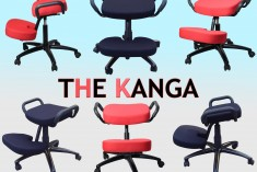 The NEW Kanga Kneeling Stool