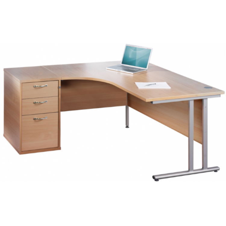 Corner Desks with Pedestals