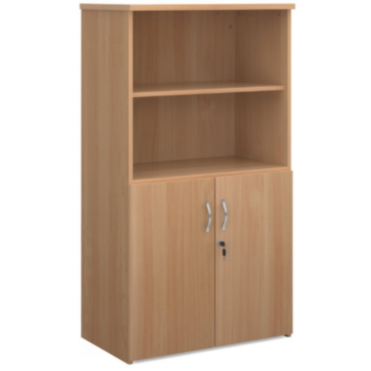 Cupboards with Open Bookcases
