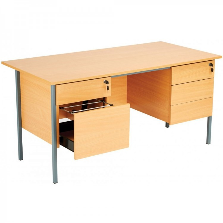Desks with Pedestals