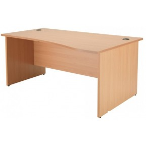 Panel End Wave Desks