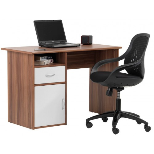 Hastings French Walnut Effect Desk