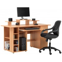 San Diego Beech Home Office Desk
