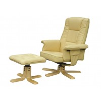 Drake Recliner Chair with Footstool