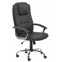 Houston High Back Leather Office Chair