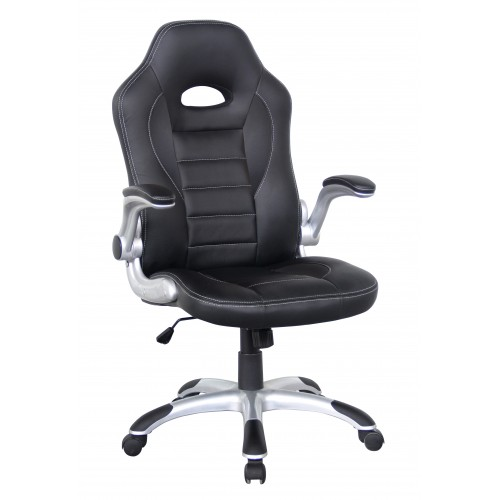 Talladega Managers Leather Race Chair
