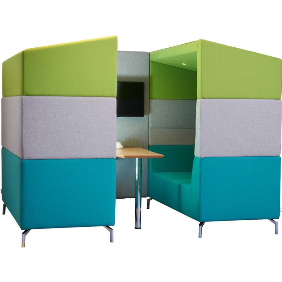 Alban Meeting Pod With Canopy