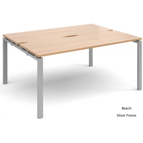 Adapt 1200mm Deep Double Starter Bench Desk