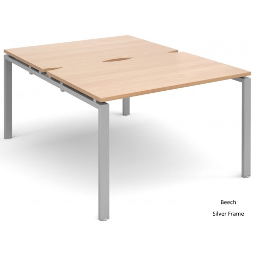 Adapt 1600mm Deep Double Starter Bench Desk