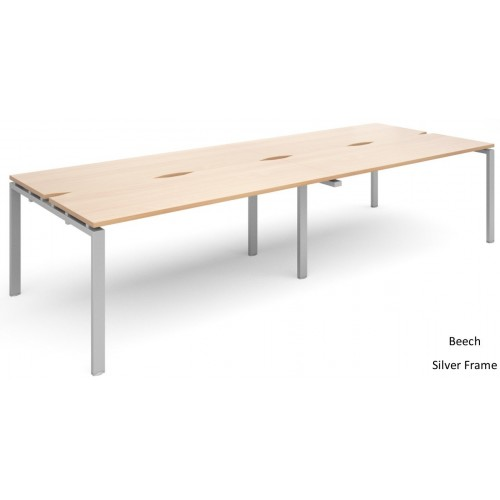 Adapt 1200mm Deep Double Back To Back Desks