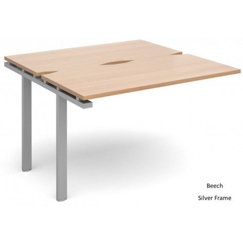 Adapt 1200mm Deep Double Extension Bench Desk