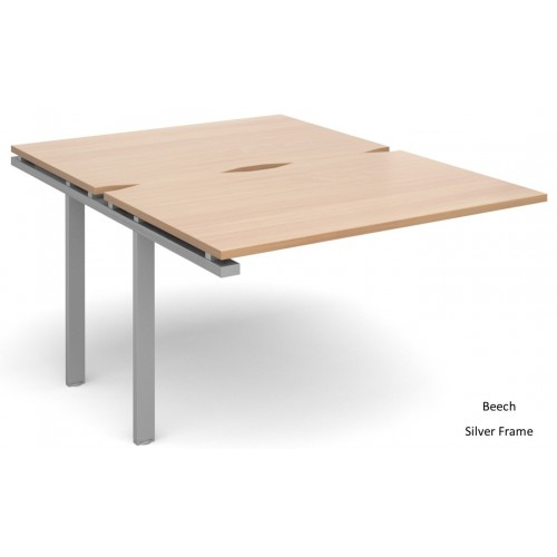 Adapt 1600mm Deep Double Extension Bench Desk