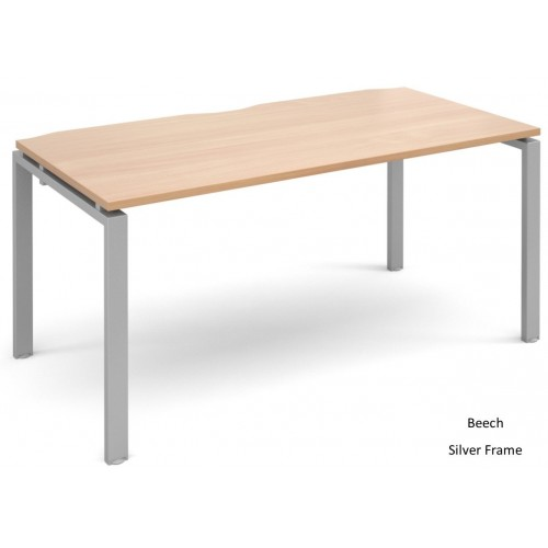 Adapt 800mm Deep Single Starter Bench Desk