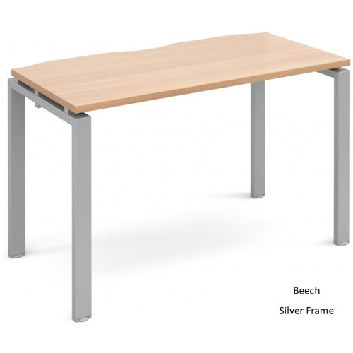 Adapt 600mm Deep Single Starter Bench Desk