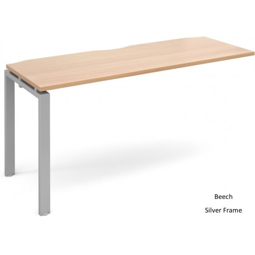 Adapt 600mm Deep Single Extension Bench Desk