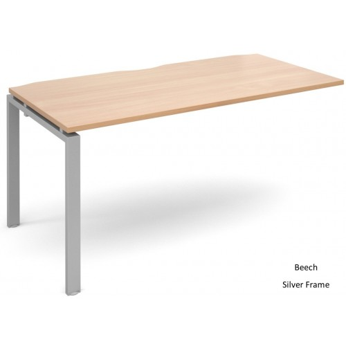 Adapt 800mm Deep Single Extension Bench Desk