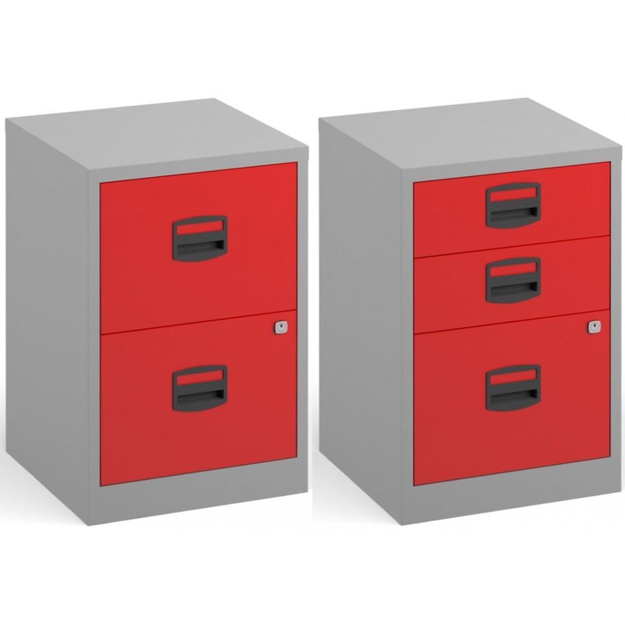 Bisley A4 Lockable Office Filer