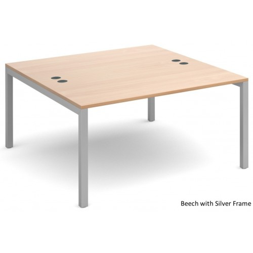 Connex Double Bench Desk Starter Unit