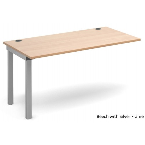 Connex Single Bench Desk Extension Unit