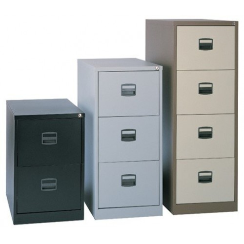 Contract Steel Filing Cabinet - 35KG - ANTI-TILT