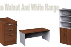 Duo White and Walnut Range!