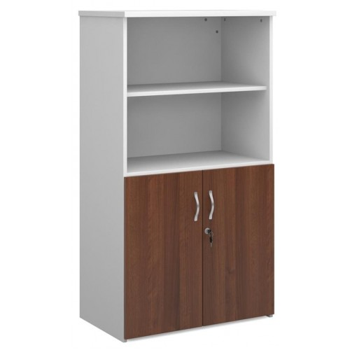 Duo Lockable Wooden Combination Storage Unit