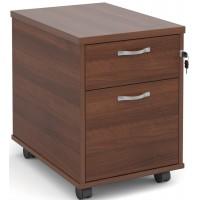 Duo Two Drawer Mobile Pedestal