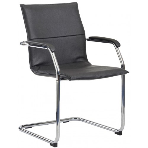 Essen Leather Cantilever Chair