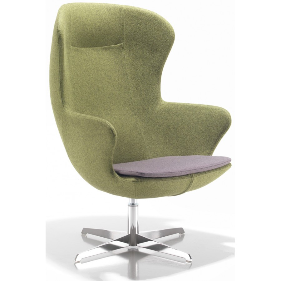 Figaro Single Seater Armchair With Metal Base