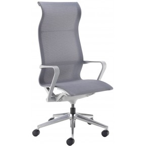 Grey & Charcoal Operator Chairs