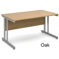 Momento Cantilever Frame Straight Office Desk