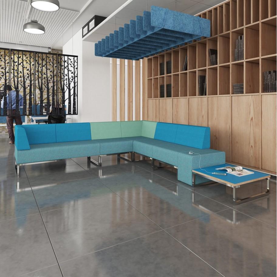 Nera Bespoke Modular Soft Seating Single Bench