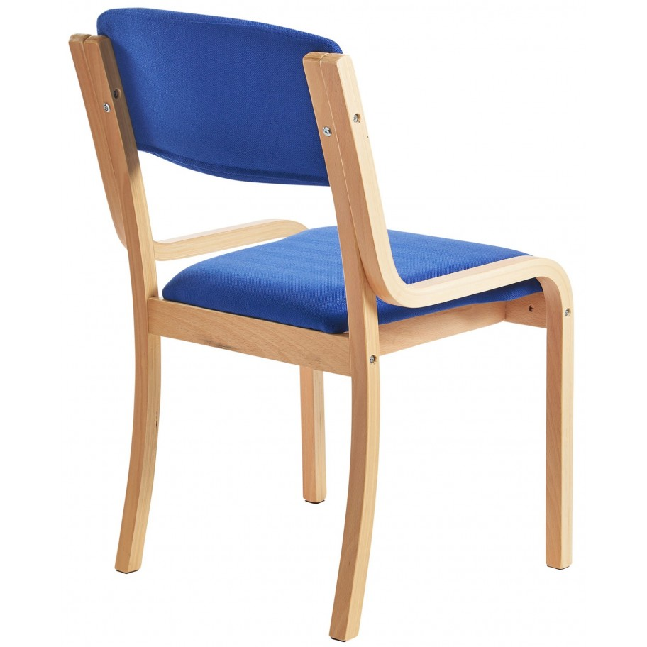 Prague Wood Frame Conference Chair