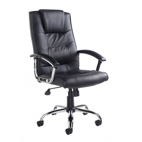 Sudbury Executive Leather Faced Chair