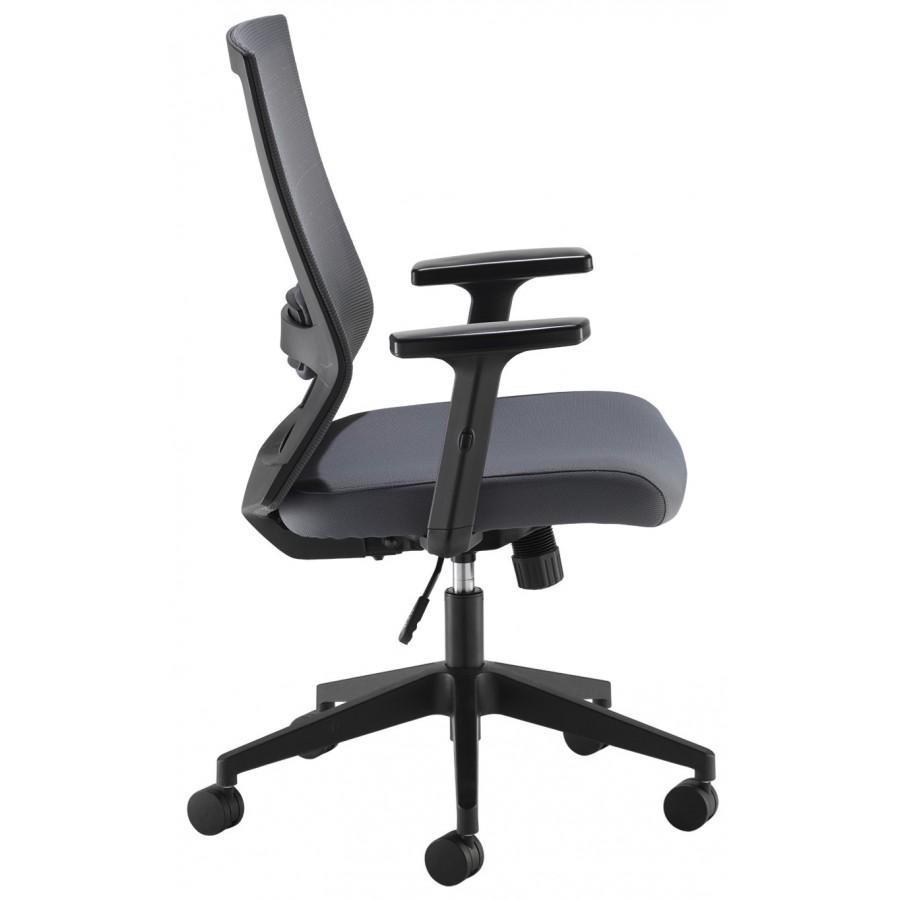 Travis Grey Mesh Back Operator Chair