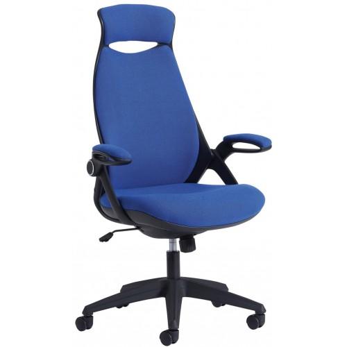 Tuscan High Back Fabric Chair