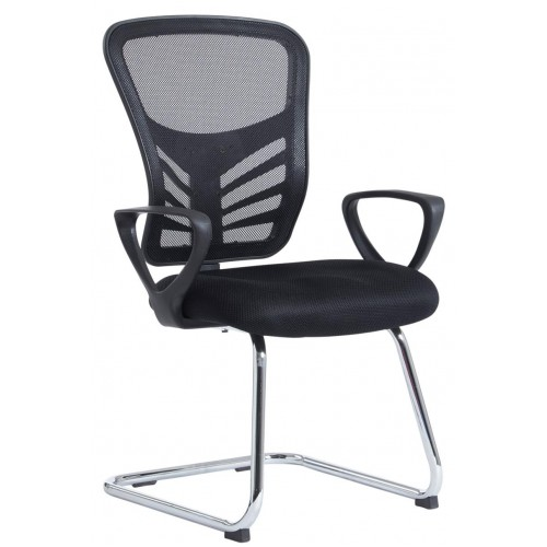Vantage Mesh Cantilever Visitor Chair
