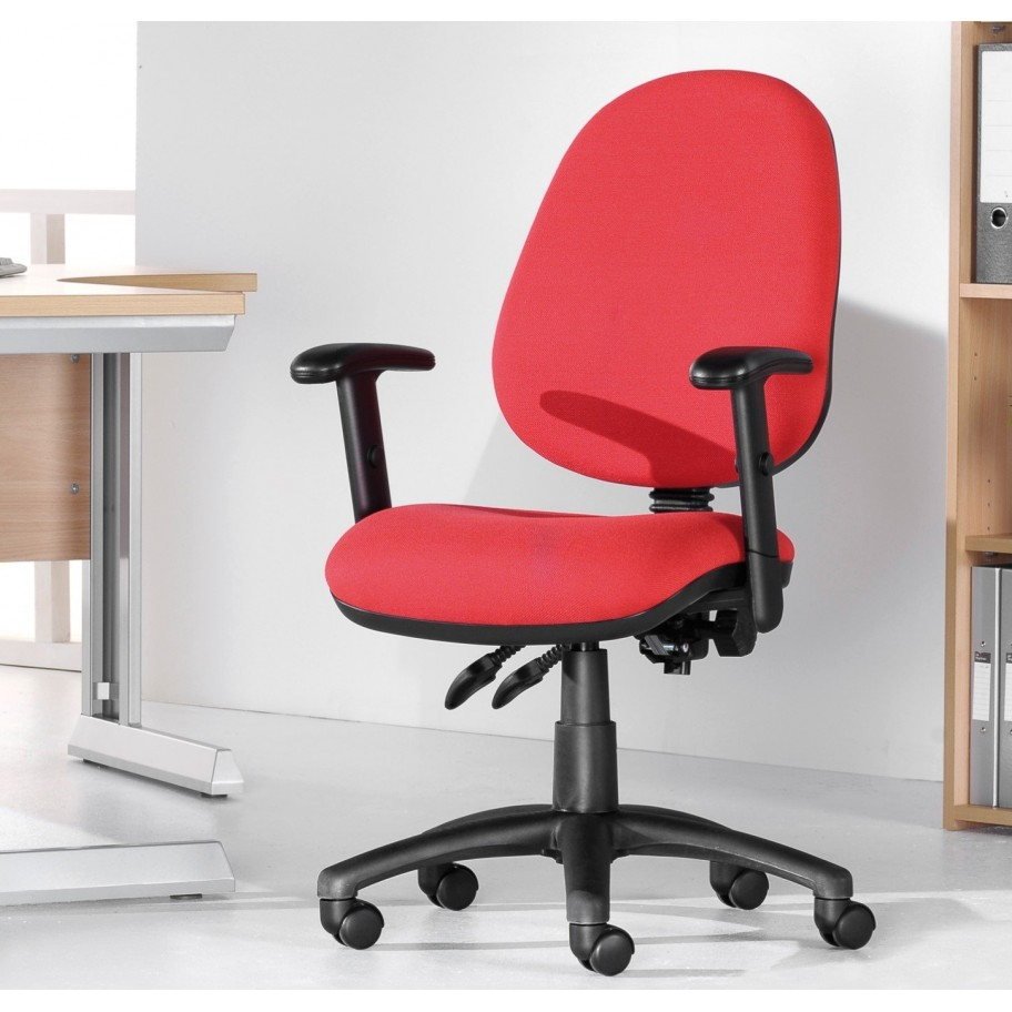 Varsity Twin Lever Operator Office Chair