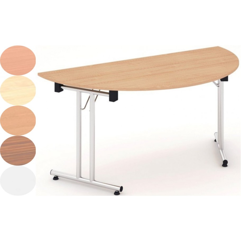 Rayleigh Semi Circle Folding Table