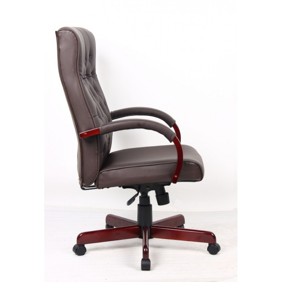 Chesham Traditional Leather Office Chair