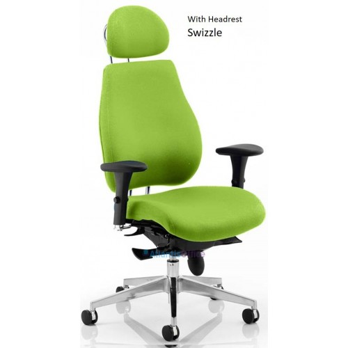 Atlantis Plus Upholstered Posture Chiropractor Office Chair