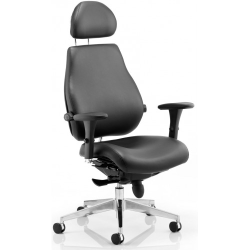 Atlantis Plus 24 Hour Ultimate Leather Posture Chair