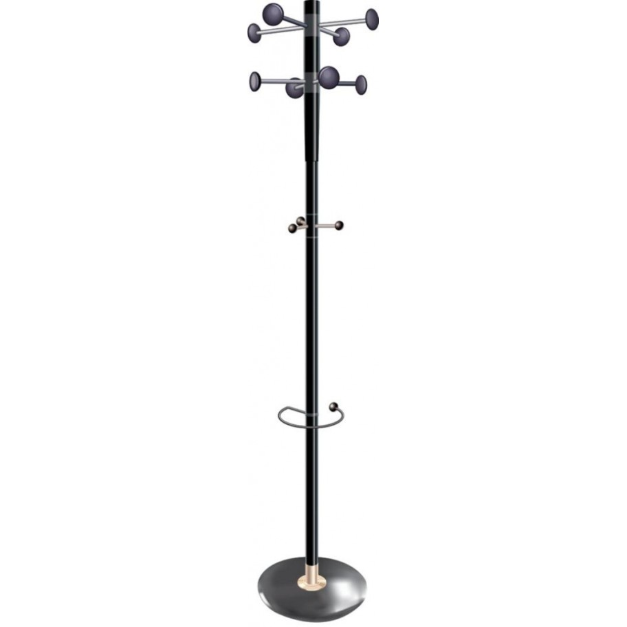 City Black Coat Stand
