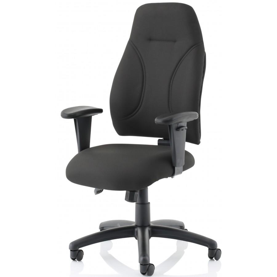Erie High Back Fabric Ergonomic Office Chair