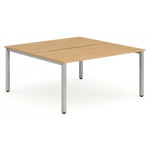 Evolve Two Pod Bench Desk Set