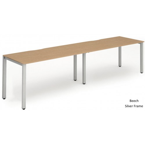 Evolve Two Row Bench Desk