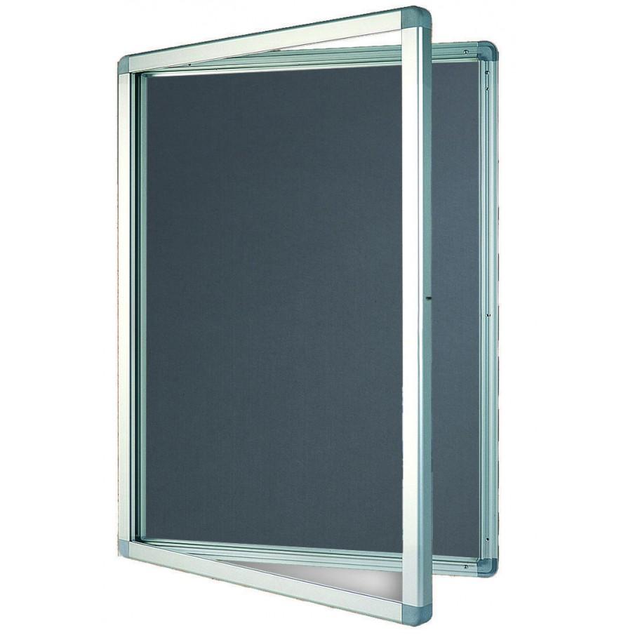 Franken outdoor felt display case for Exterior display case