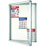 Franken Outdoor Magnetic Drywipe Display Case